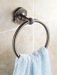 Antique Bronze Wall Mounted Towel Rings