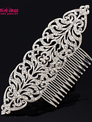 Neoglory Jewelry Europe Imperial Style Hair Comb with Clear Rhinestone  for Lady's/Pageant/Daily/Wedding