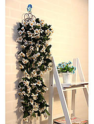 "23.6 ""l modernen Stil violetten Blüten in Eisenblumenkorb"