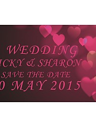 Personalized 200pcs/Lot Wholesale Wedding Invitations Elegant Laser Cut Wedding Invitations Save The Date Paper Card