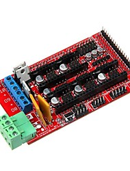 Geeetecch 3D Printer Reprap Ramps 1.4 Control Board Mega Pololu Shield