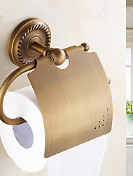 Antique Brass Wall Mounted Toilet Paper Holders