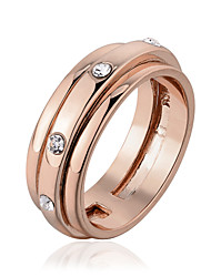 Alloy/Gold Plated Ring Couple Rings/Band Rings Wedding/Party/Daily/Casual 1pc Promis rings for couples