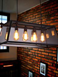 MAX 60W Island Light ,  Rustique / Rétro Plaqué Fonctionnalité for Style Bougie MétalSalle de séjour / Chambre à coucher / Salle à manger