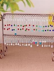 épaissir boucles métalliques organisateurs de bijoux étagères