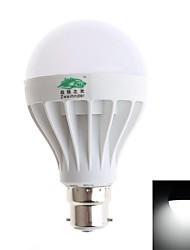 9W B22 Lâmpada Redonda LED A70 15 SMD 5630 800 lm Branco Frio Decorativa AC 220-240 V 1 pç