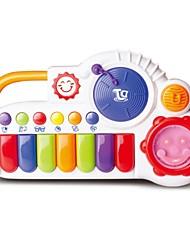 órgão eletrônico feliz com o som do bebê riso