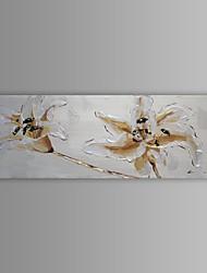 pintura a óleo moderna flor abstrata mão canvas, com quadro esticado pintados