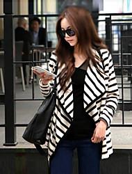 SONGE Women's Casual Long Sleeve Coats & Jackets (Cotton)