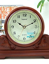 Modern/Retro/Home/Office/ Wood/Tablel Clock/Desk Clock/Home Decoration/Japan Seiko Movement