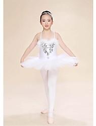 Robes(Ivoire,Plumes,Ballet)Ballet- pourFemme / Enfant Plumes/Fourrure Spectacle Danse classique Printemps, Août, Hiver, Eté Taille haute