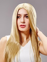 European and American Fashion Long Golden Hair Wigs