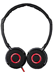 Astrotec AS100 Portable Hi-Fi Headphone with Red Line for MP3/PC/Phone