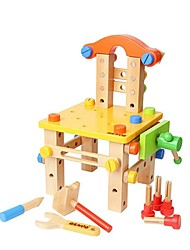 BENHO Tools Chair Wooden Building Blocks Baby Toy