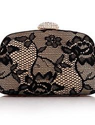 Women's Four Keres Crusty Hand with Diamond Evening Bag Chain Bag