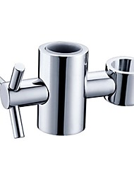 Gadget de Salle de Bain Nickel brossé Autre Fits slide bar of 25 mm/0.98 inch outer diameter Laiton Contemporain