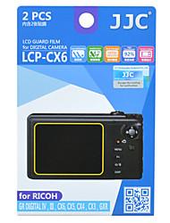 JJC lcp-CX6 Ricoh GR Digital IV iii CX6 CX5 gxr CX4 CX3 gewidmet Kamera hd Beschichtung von Spalt
