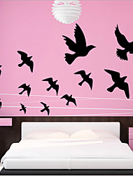 Environmental Removable Flying Dove PVC Wall Sticker