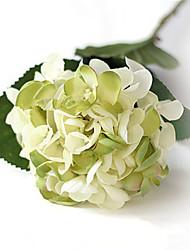 "24"" White Green Mermaid Hyfrangeas Artificial Flowers"