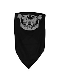 Qinglonglin Skull Cs Ghost Motorcycle Half Face Mask Dustproof