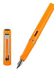 0.5mm Orange Fashion Business Fountain Pen