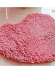 Casual Chenille  Cute Heart Carpet 70cm*80cm Bath Rugs