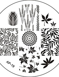 Nail Art Stamp Stamping Image Template Plate AP Series NO.19