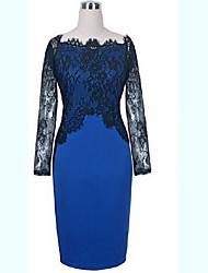 nouvelle robe de dentelle européen des femmes r.o.abby