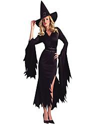 Costumes - Sorcier/Ange et Diable - Féminin - Halloween - Robe/Casque/Ceinture