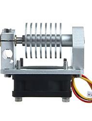 geeetech metálica e3d j-head v2.0 corta distancia extrusora ventilador de refrigeración