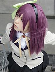 Cosplay Wigs Tokyo Ghoul Cosplay Purple Medium Anime Cosplay Wigs 60 CM Heat Resistant Fiber Female