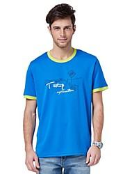 Homme Hauts/Tops / T-shirtCamping & Randonnée / Pêche / Fitness / Courses / Sport de détente / Badminton / Football / Plage /