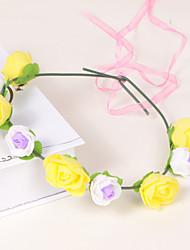 Женский Для девочек Поролон Пластик Заставка-Свадьба Особые случаи На каждый день Для деловой одежды на открытом воздухе Венки 1 шт.
