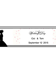 Wedding Décor Personalized   Banner - The bride and Groom