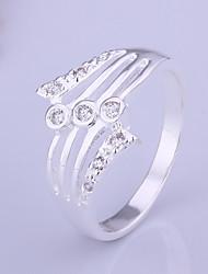 Sweet cute Women's White Diamond Rings(1Pc)