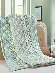 Sommer dünnes handgefertigten Wandteppich Schlafdecke Doppel volle Queen-Size-Klimaanlagensteppdecke