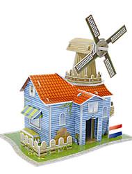 голландской фермы модель трехмерной головоломки