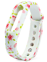 Activity Tracker Replaceable TPU Band for Xiaomi Smart Watch Bracelet Small Flower Pattern