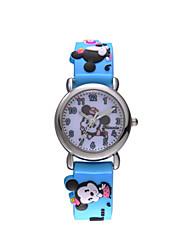venta caliente famosa marca disney caso de alta calidad de aleación de cuarzo niños de dibujos animados Wacthes dc-54062