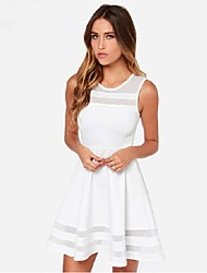 Women's Sexy/Beach/Casual/Party/Work Sleeveless Mini Dress