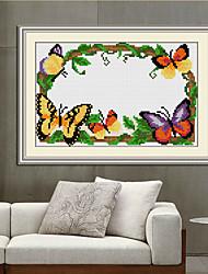 mariposa del envío libre de bricolaje diamante serie estilo chino de punto de cruz decoración del hogar de la pared de la costura 22 *
