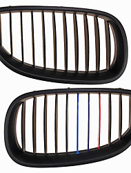 M-Color Matte Black Grille Grill Kidney For BMW E60 E61 5 Series M5 03-09