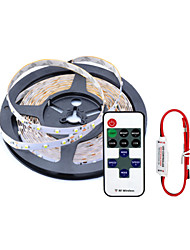 Waterproof 5M 300X3528 Smd Led Strip Light and 11Key RF Controller