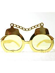 pc grappig handboeien geek&chique party bril