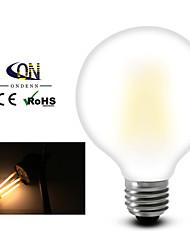 1 pièce ON E26/E27 8 COB 800 LM Blanc Chaud G95 edison Vintage Ampoules à Filament LED AC 100-240 / AC 110-130 V