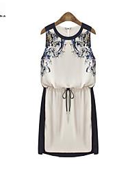 MENGFEILU®Women's Floral Printed Tunic Dresses