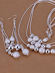 Women Fashion Casual Silver-plated Set