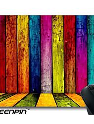 tapis de souris personnalisé seenpin arc-en-design en bois