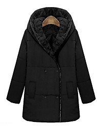 O  M  G  Women's Korean Fashion Cotton Slim Down coat