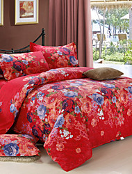 Yuxin® Cotton Silk Satin Brocade Family of Four  High-Grade Cotton Jacquard Kit   1.5M-1.8M Bed/2M Bed